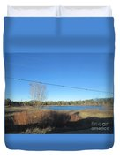 Lake In Lakeside Duvet Cover