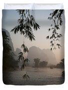 Lake In Mountain Area Duvet Cover by Keith Levit