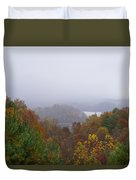 Lake In The Distance Duvet Cover