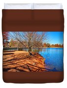 Lake Island Duvet Cover