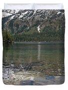 Lake Jenny Grand Tetons Duvet Cover