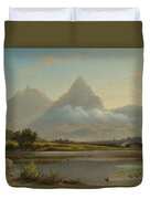 Lake Lauerz Duvet Cover