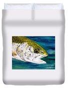 Lake Leopard Duvet Cover