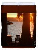 Lake Life Duvet Cover