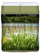 Lake Lily Duvet Cover