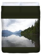 Lake Macdonald Reflection Duvet Cover