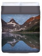 Lake Magog Duvet Cover