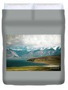 Lake Manasarovar Kailas Yantra.lv Tibet Duvet Cover