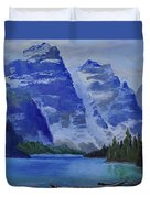 Lake Marine Duvet Cover
