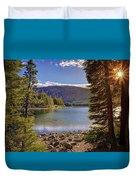 Lake Mary Forest Star Duvet Cover