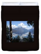 Lake Mcdonald Glacier National Park Duvet Cover