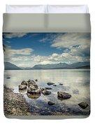 Lake Mcdonald - Glacier National Park Duvet Cover