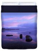 Lake Mcdonald Sunrise  Duvet Cover