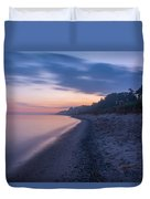 Lake Michigan Morning 2 Duvet Cover