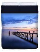 Lake Monroe At Twilight Duvet Cover