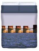 Lake Murray S C 2 Duvet Cover