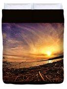 Lake Nipissing Sunset Callander Bay Duvet Cover