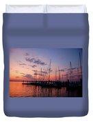 Lake Norman Sunset Duvet Cover