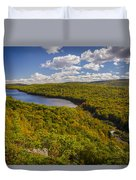 Lake Of The Clouds Duvet Cover