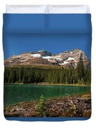 Lake O'hara, Yoho National Park Duvet Cover