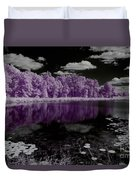 Lake On Another Planet Duvet Cover