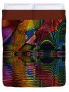 Lake Opalescence Duvet Cover