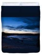 Lake Payette Duvet Cover