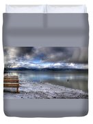Lake Pend D'oreille At 41 South Duvet Cover