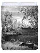 Lake Pend D'oreille Duvet Cover