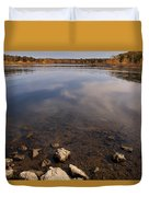 Lake Pomme De Terre In October Duvet Cover
