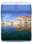 Lake Powell And The Glen Canyon Duvet Cover