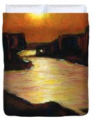 Lake Powell At Sunset Duvet Cover