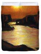 Lake Powell At Sunset Duvet Cover