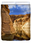 Lake Powell Stillness Duvet Cover