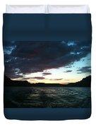 Lake Powell Sunset Duvet Cover