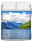 Lake Quinault Washington Duvet Cover