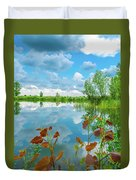 Lake Reflection Duvet Cover