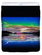 Lake Reflections 3 Duvet Cover