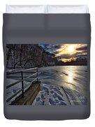 Lake Roland Sunset Duvet Cover