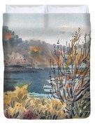 Lake Roosevelt Duvet Cover
