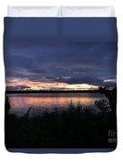 Lake Sky Duvet Cover