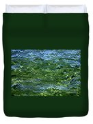 Lake Tahoe Abstract Duvet Cover