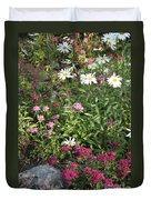 Lake Tahoe Garden Duvet Cover