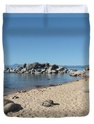 Lake Tahoe Morning Duvet Cover