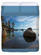 Lake Tahoe Nevada Duvet Cover