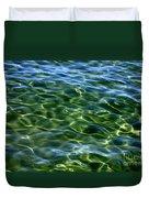 Lake Tahoe Swirls Duvet Cover