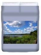 Lake Tarpon Duvet Cover