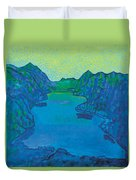 Lake Thun Duvet Cover