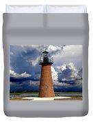 Lake Toho Lighthouse 002  Duvet Cover