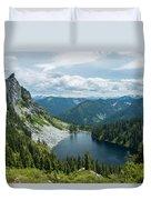 Lake Valhalla Duvet Cover
